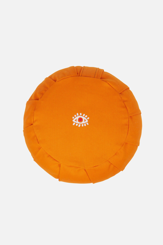 Vipassana Meditation Cushion, Saffron