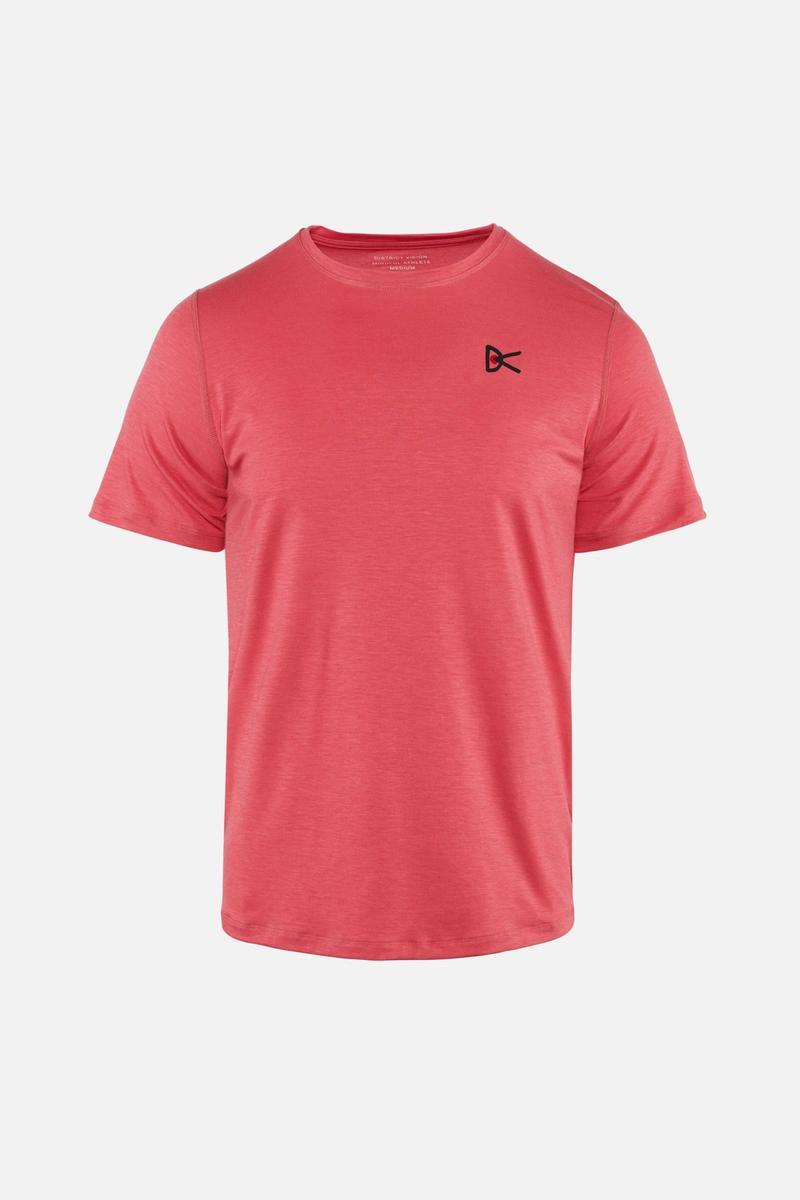 Tadasana Short Sleeve T-Shirt, Rose