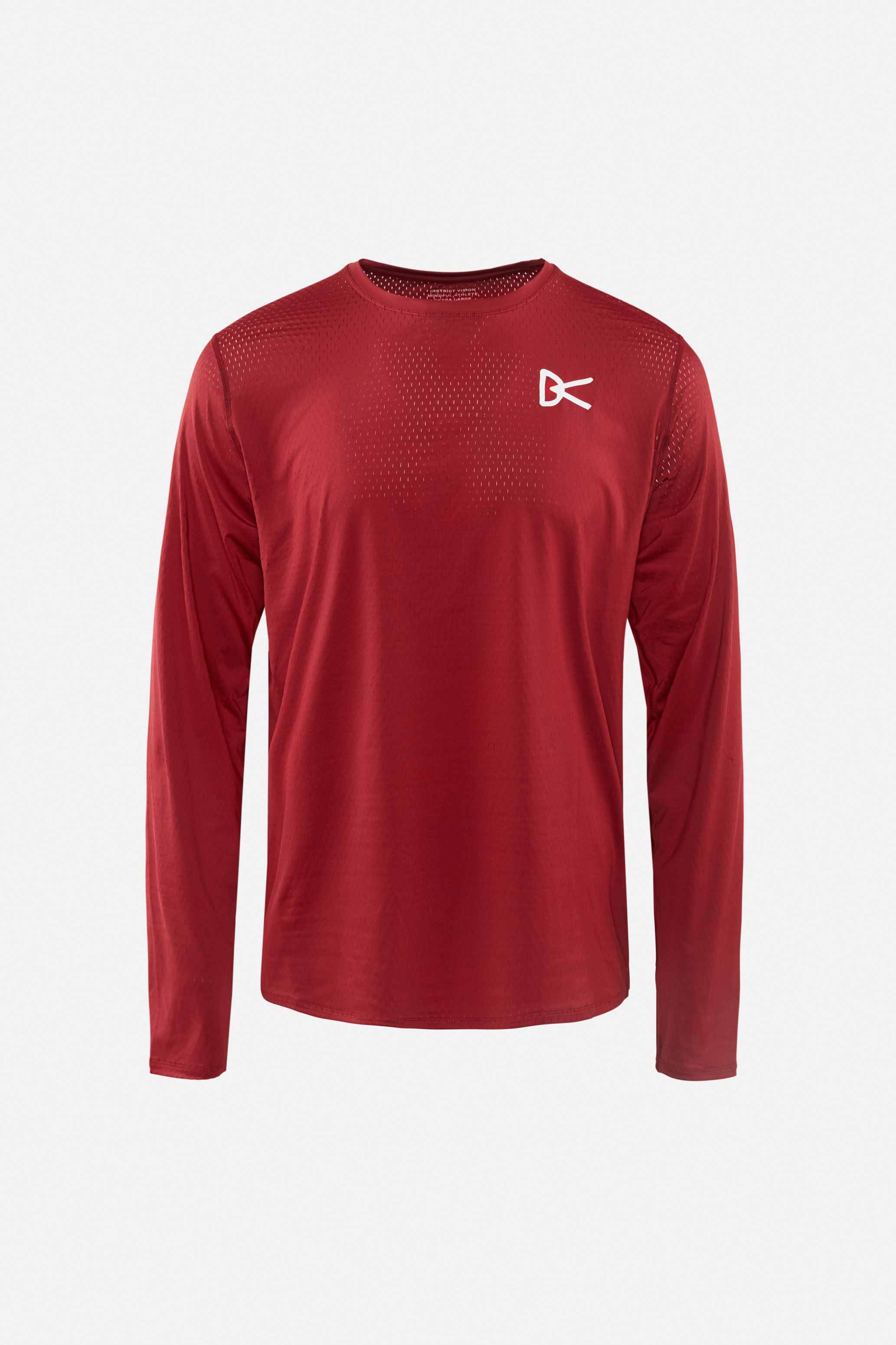 Air––Wear Long Sleeve T-Shirt, Burgundy