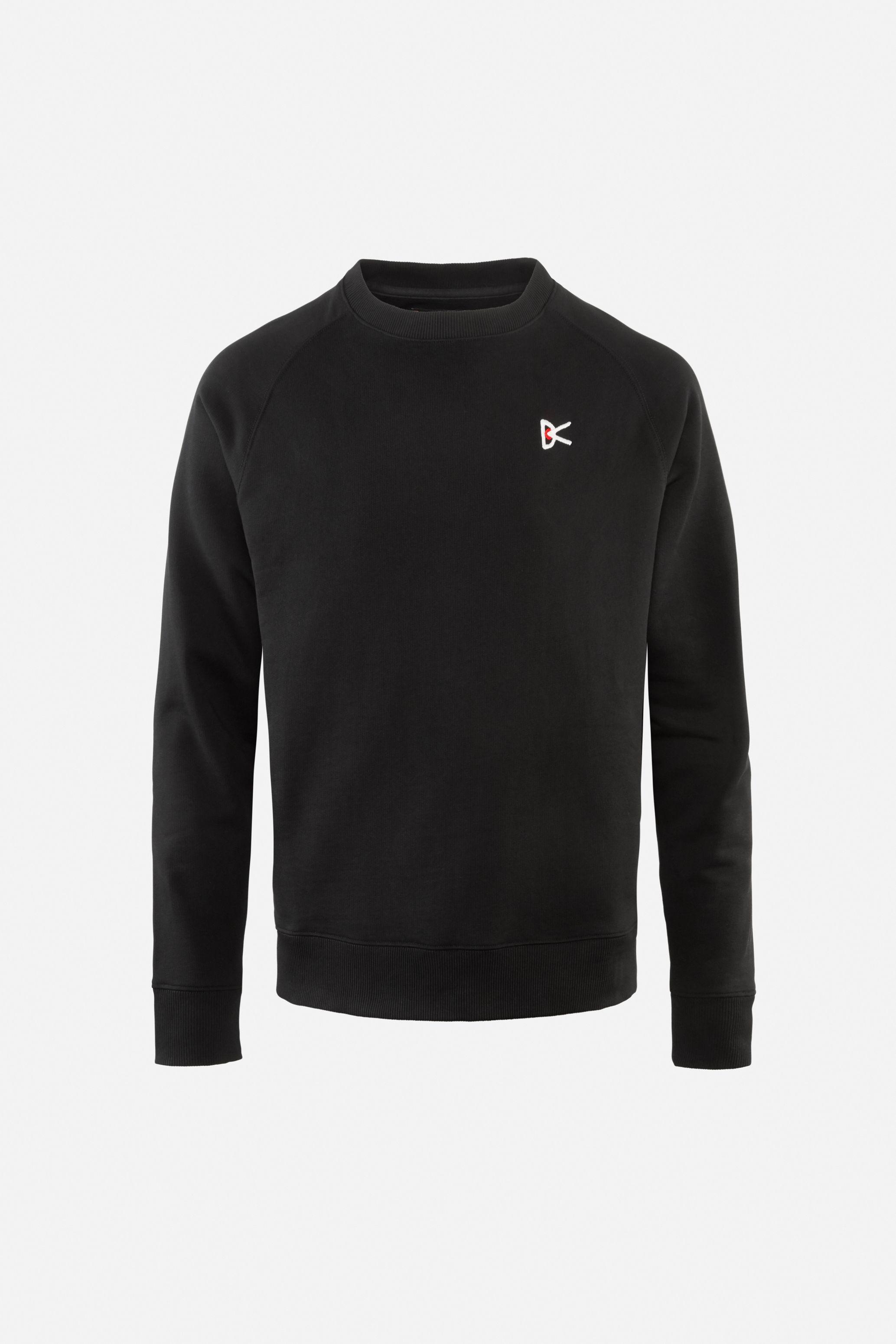 Sati Crew Neck Sweatshirt, Black