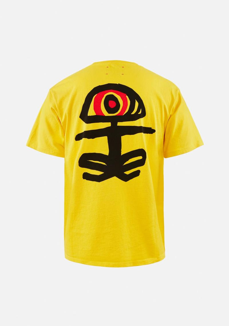 Karuna Short Sleeve T-Shirt, Yellow