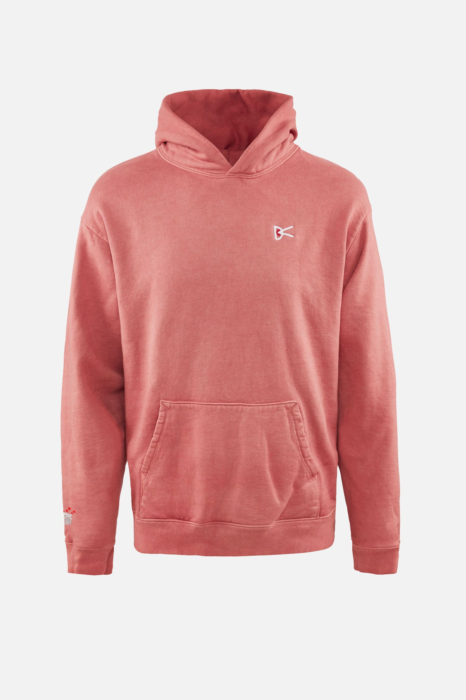 Mudita Pullover Hoodie, Madder Root Vegetable Dye