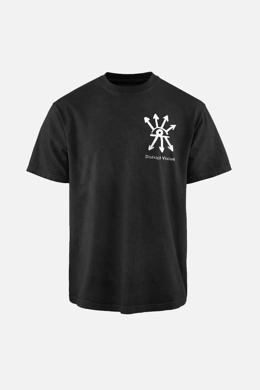Karuna Short Sleeve T-Shirt, Black Visions