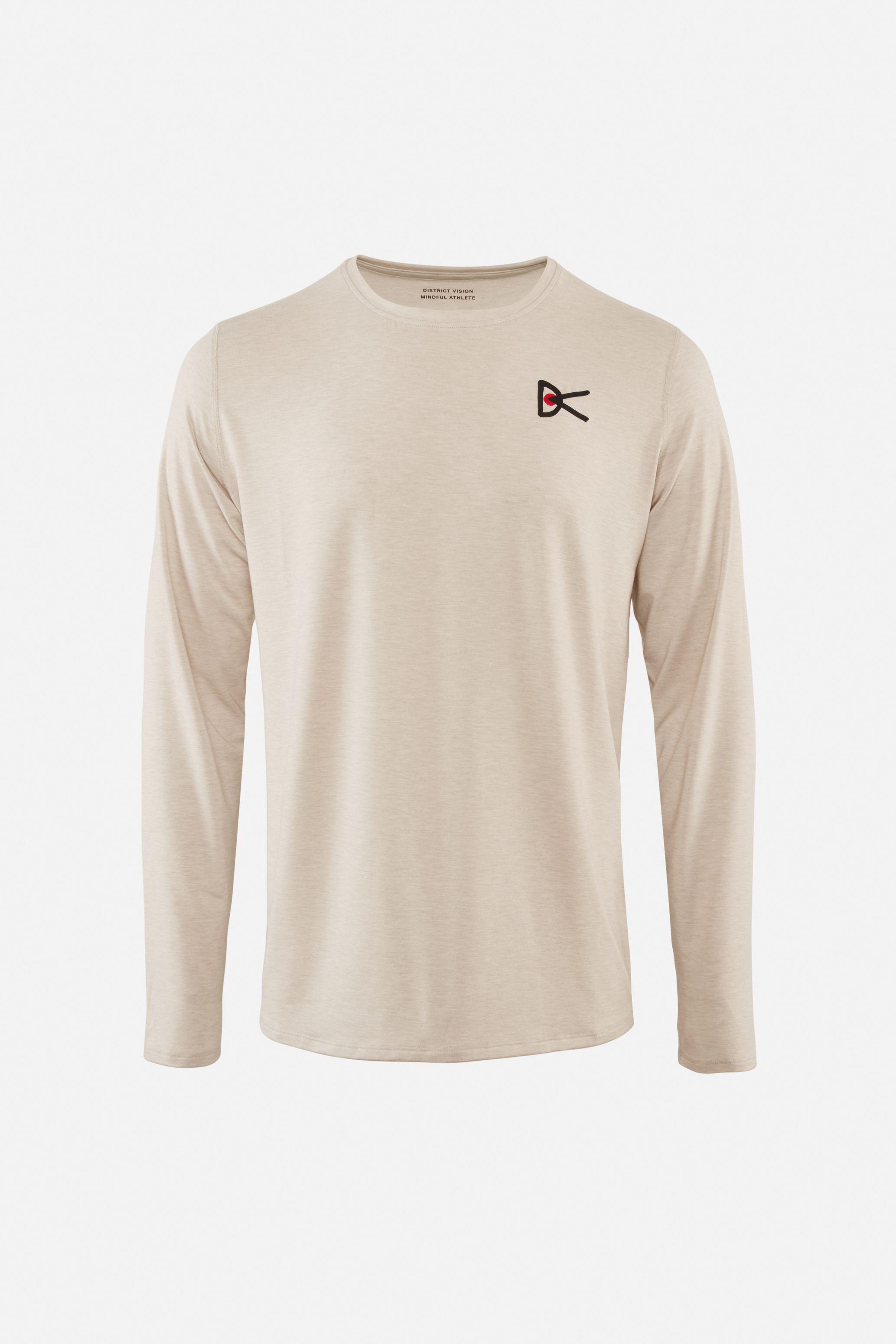 Tadasana Long Sleeve T-Shirt, Oatmeal