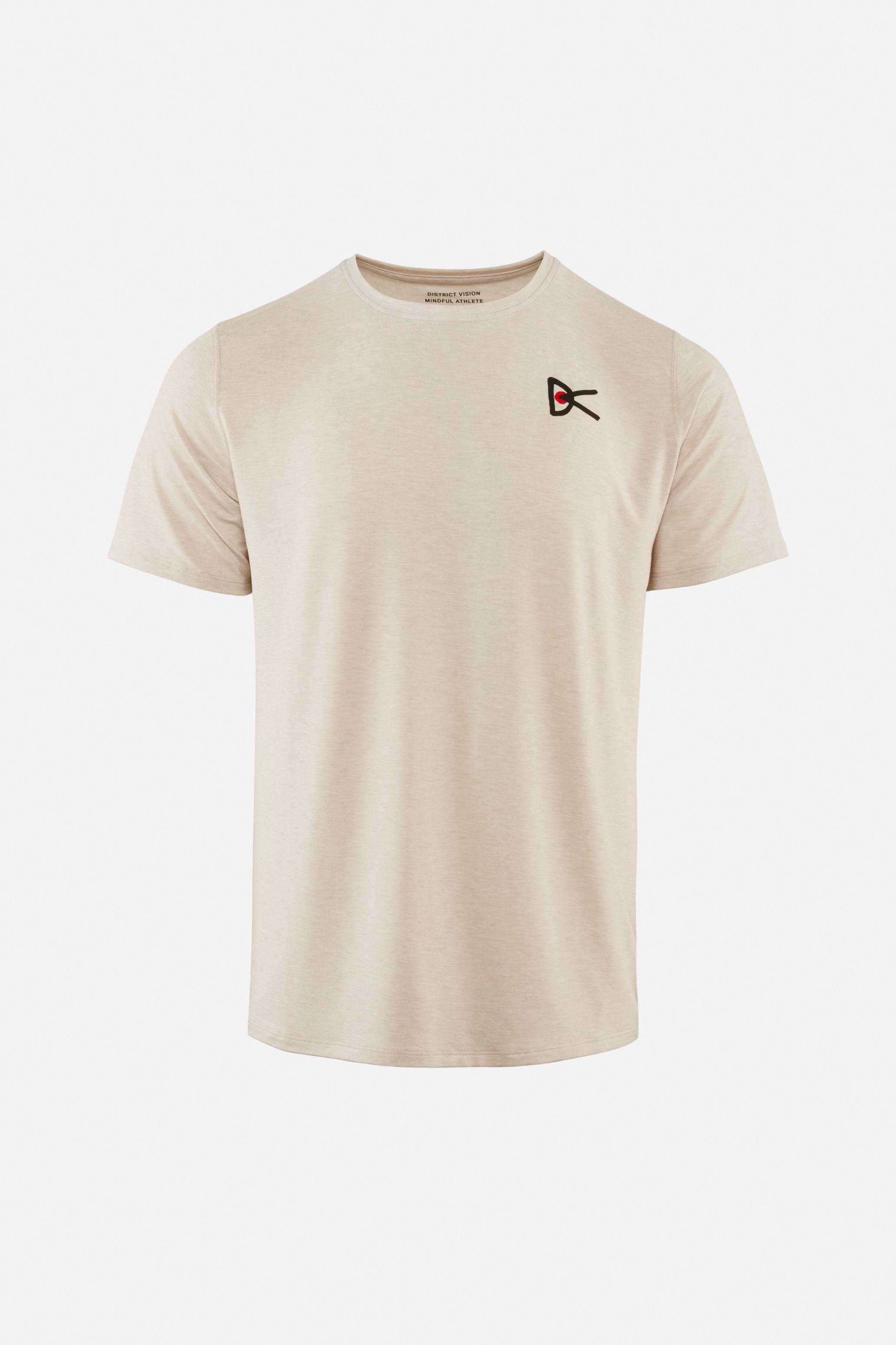 Tadasana Short Sleeve T-Shirt, Oatmeal