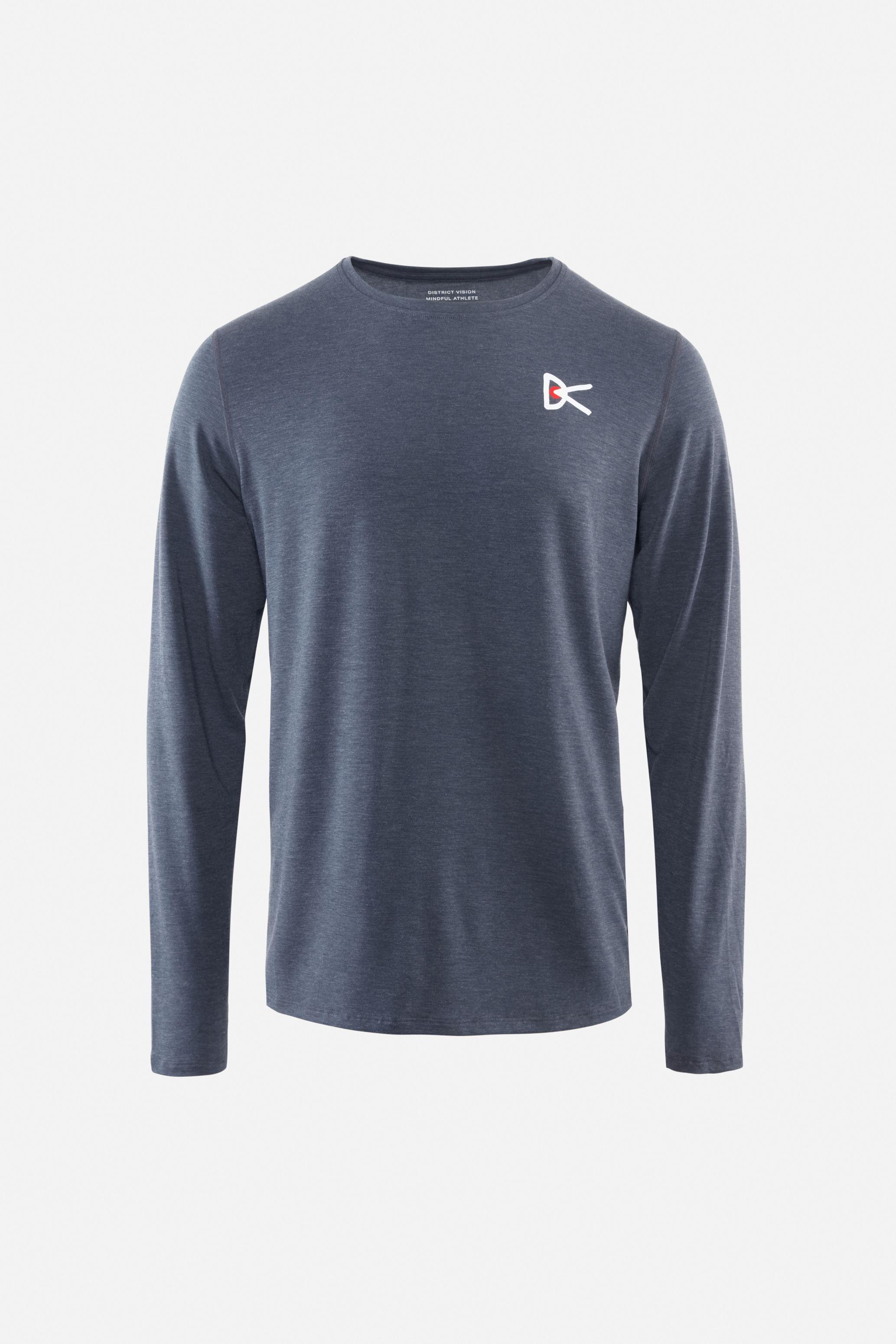 Tadasana Long Sleeve T-Shirt, Blue