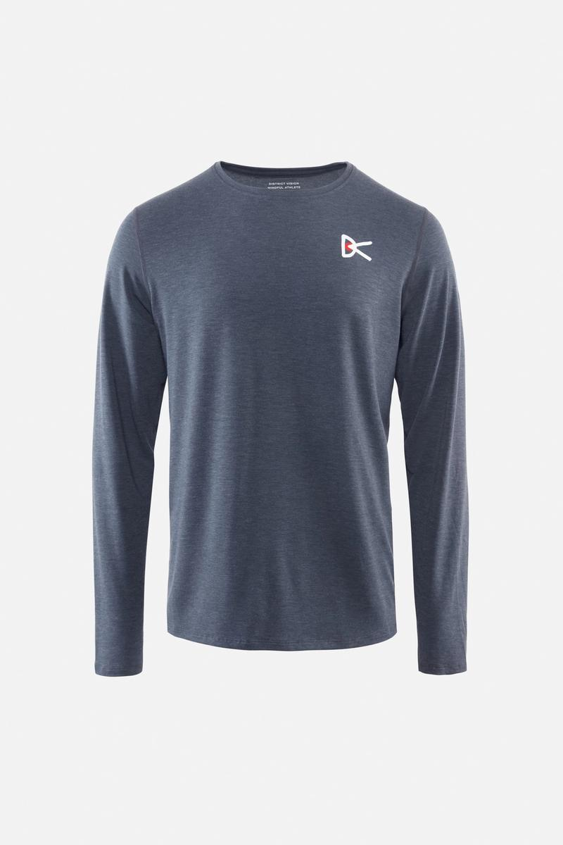 Tadasana Long Sleeve T-Shirt, Blue