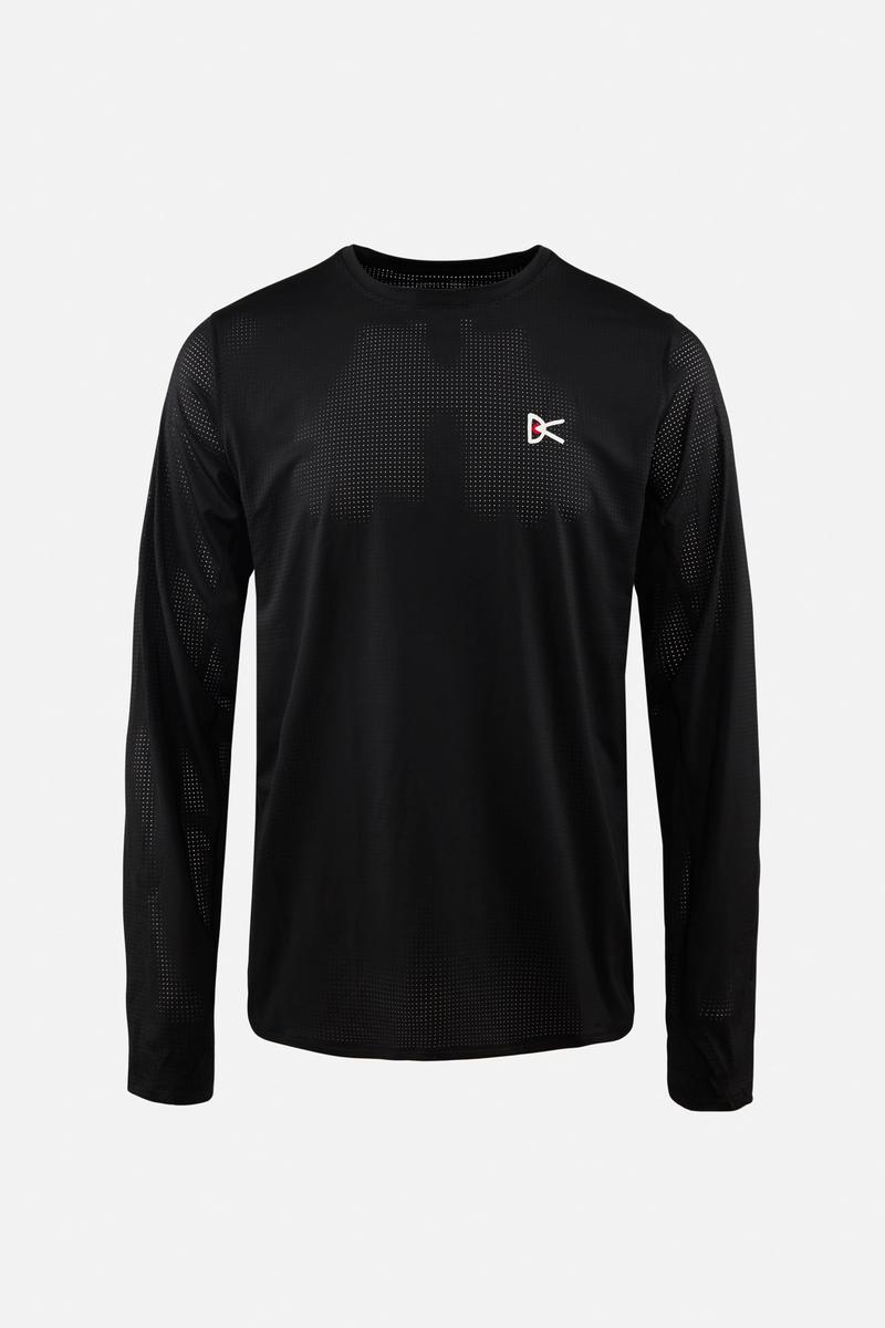 Peace–Tech Long Sleeve T-Shirt, Black