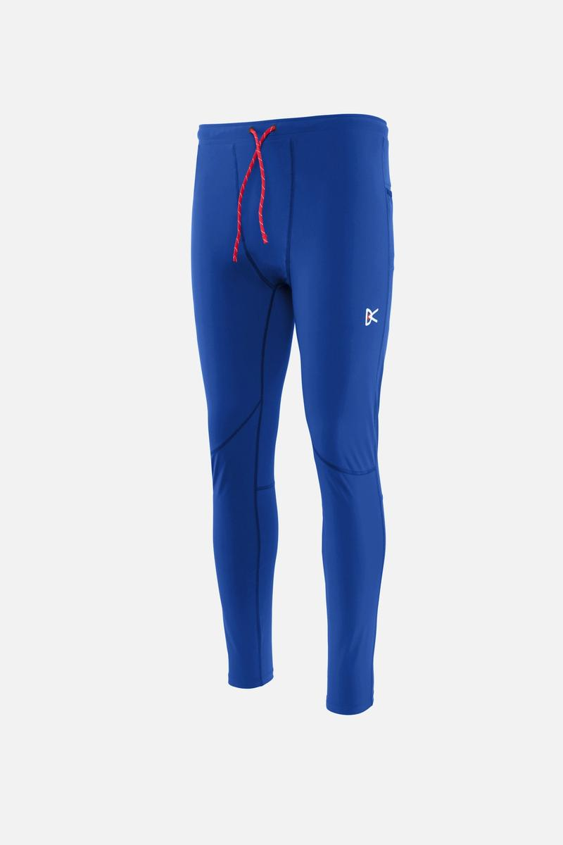 Lono Full-Length Tights, Electric Blue