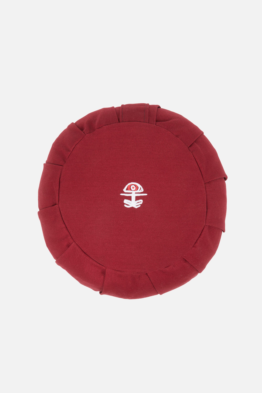 Vipassana Meditation Cushion, Tibetan Red