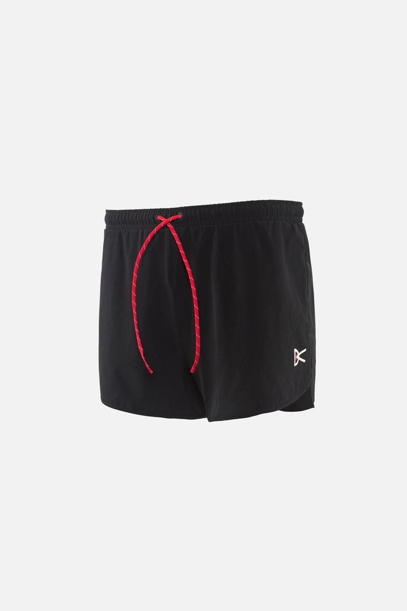 Simon 3 inch Race Shorts, Black