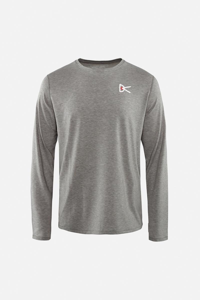 Tadasana Long Sleeve T-Shirt Dark Gray