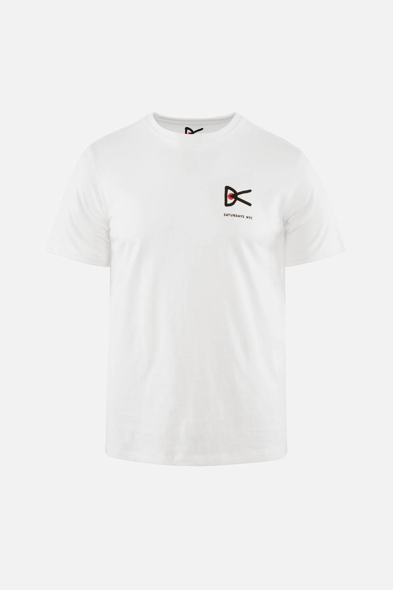 Mindful Ocean Collective Short Sleeve T-Shirt, White