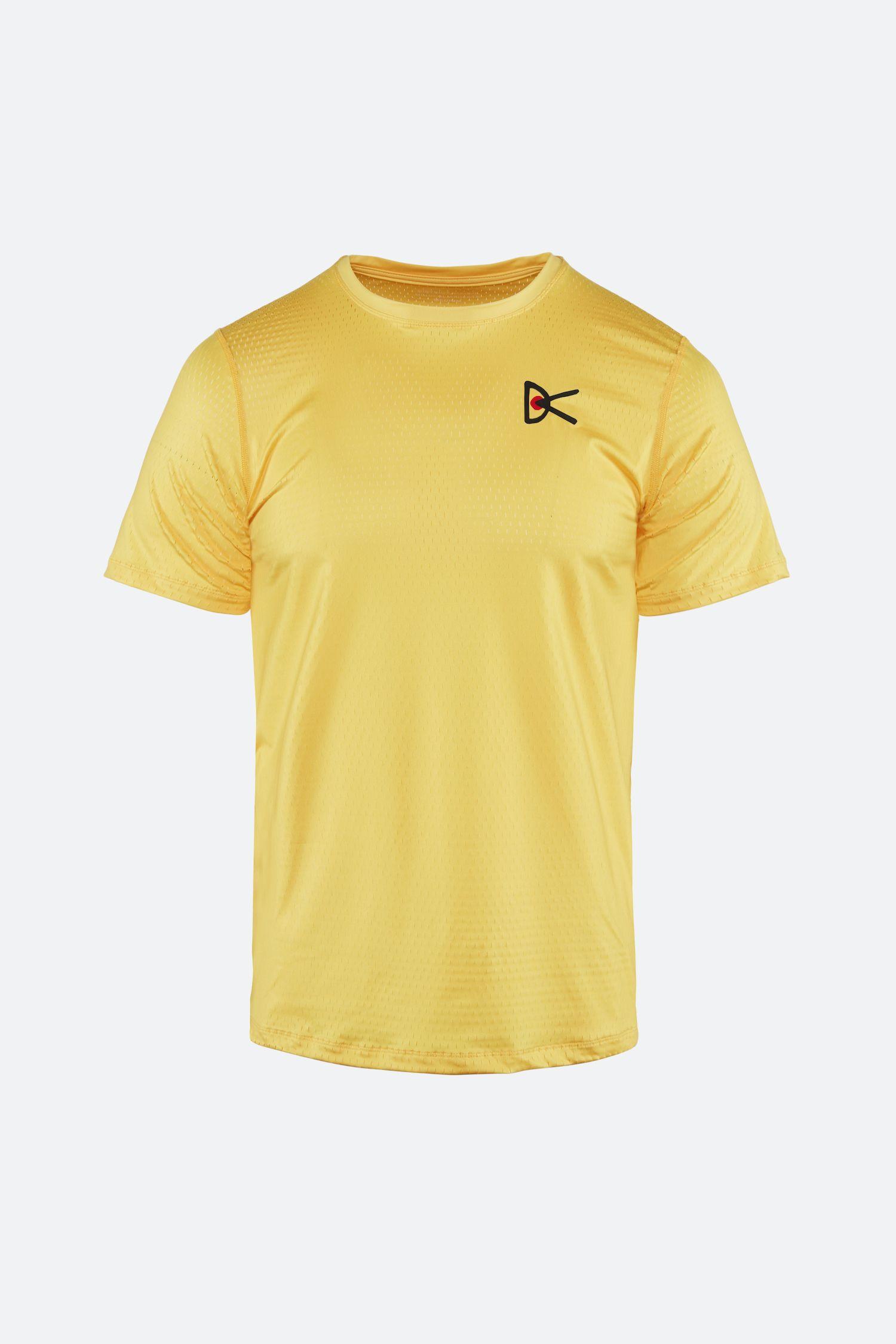 Air–Wear Short Sleeve T-Shirt, Yellow