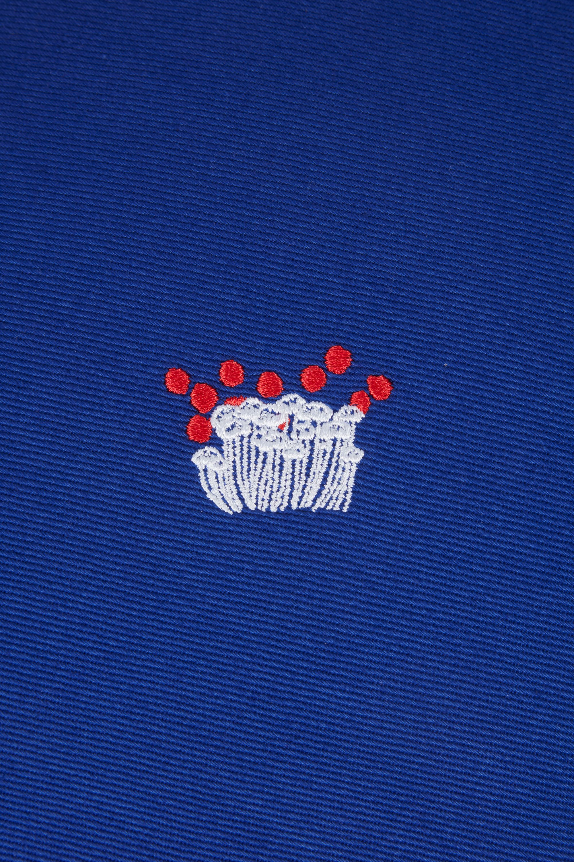 Meditation Cushion, Mr. Porter mushroom embroidery