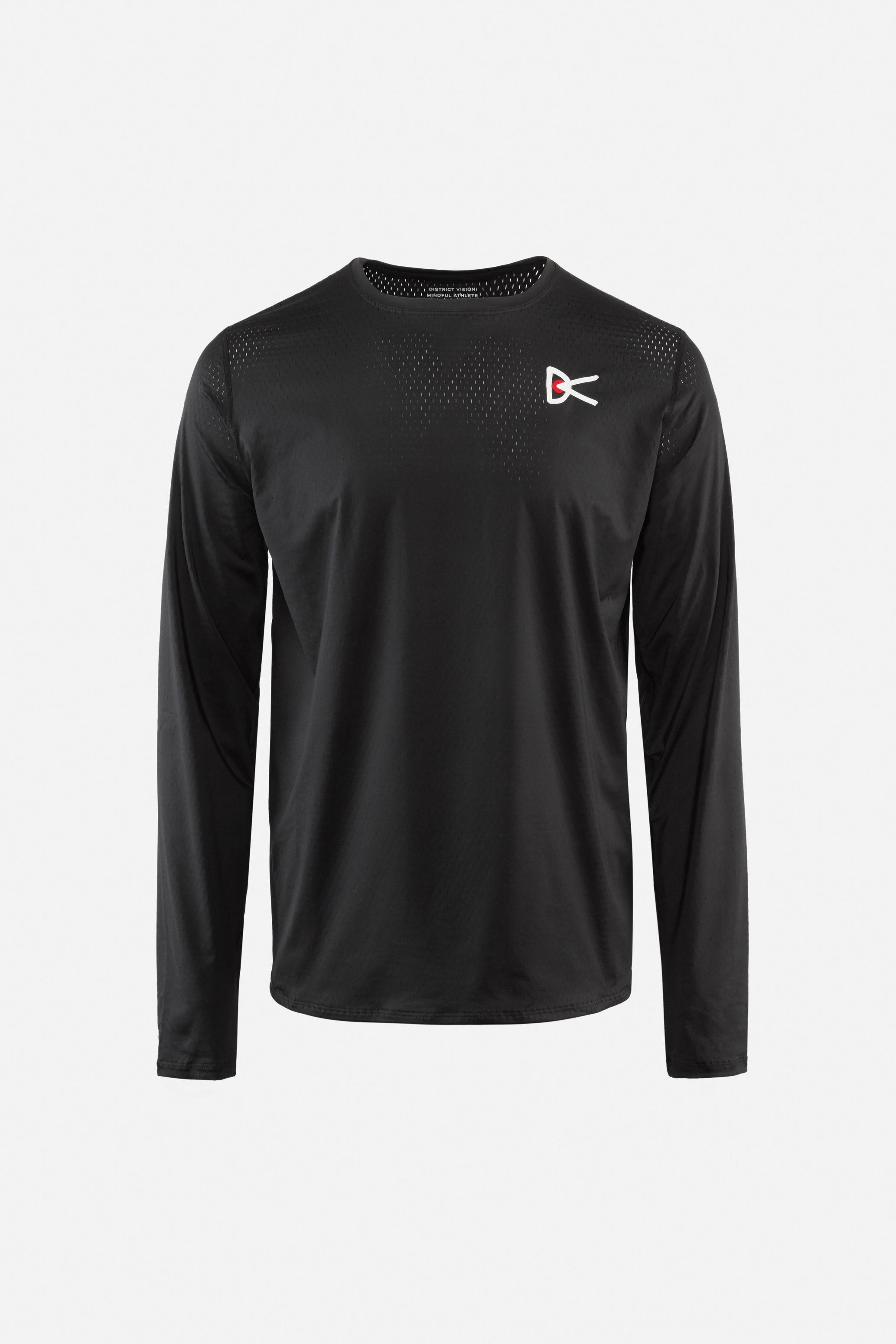Air––Wear Long Sleeve T-Shirt, Black