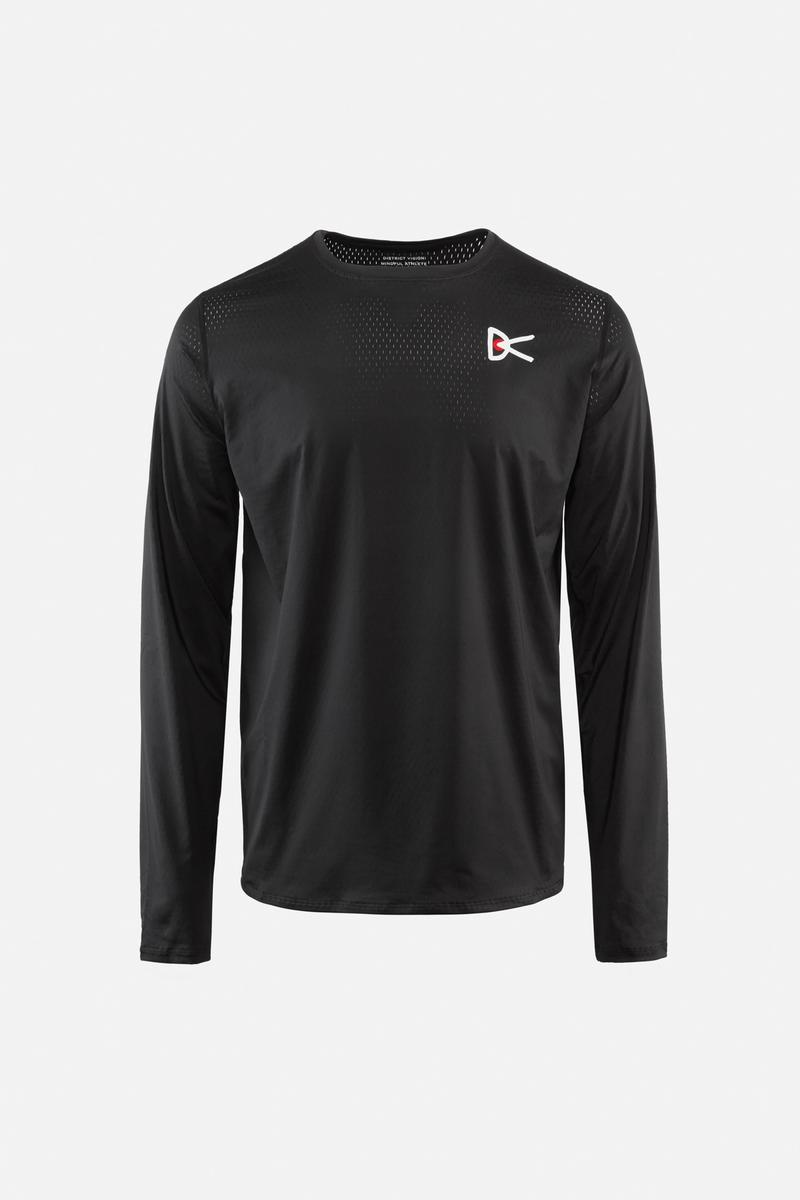 Air––Wear Long Sleeve T-Shirt, Black