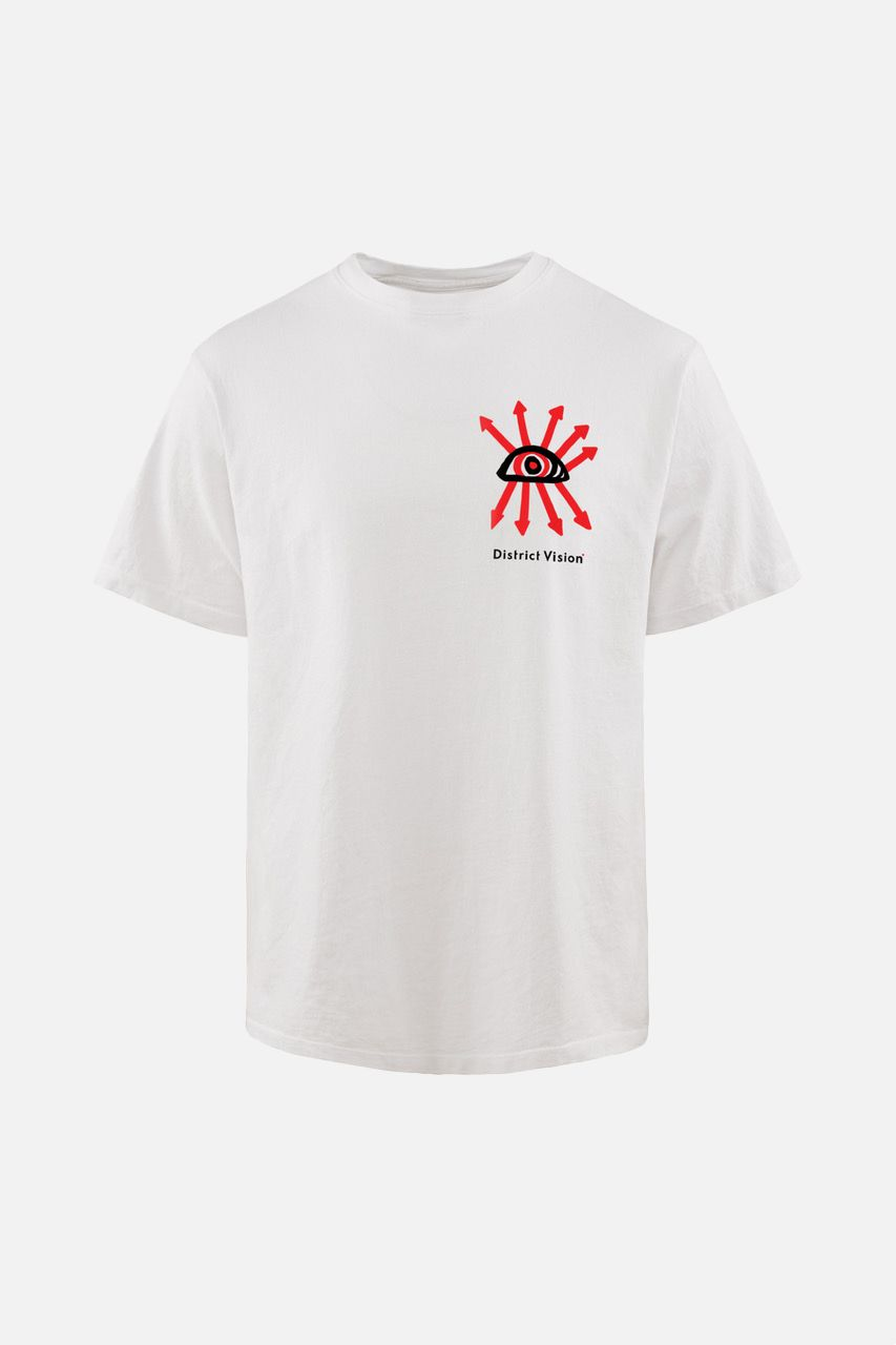 Karuna Short Sleeve T-Shirt, White Visions