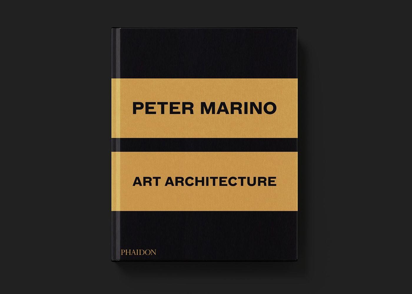 Spread of Peter Marino: Art Architecture (Luxury edition), Phaidon (2016)
