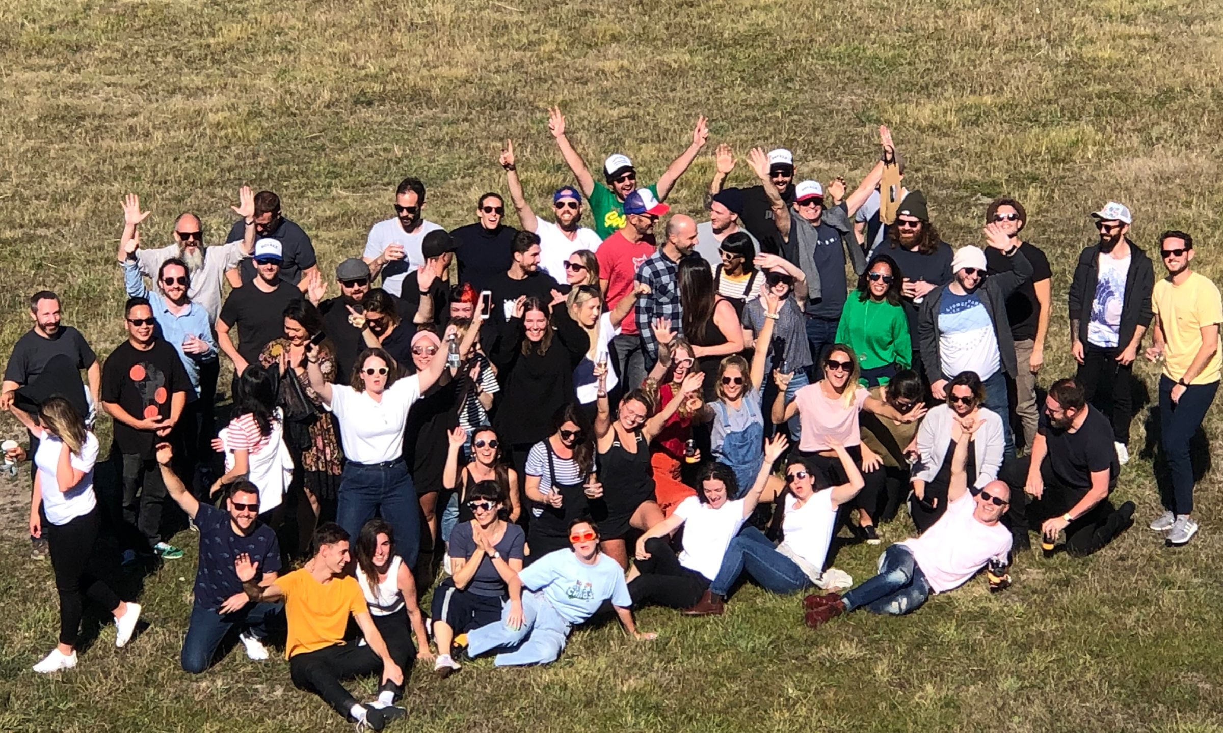 Each year, we all get together for a few days for an Agency Adventure. This photo is from our 2019 adventure to Tasmania.
