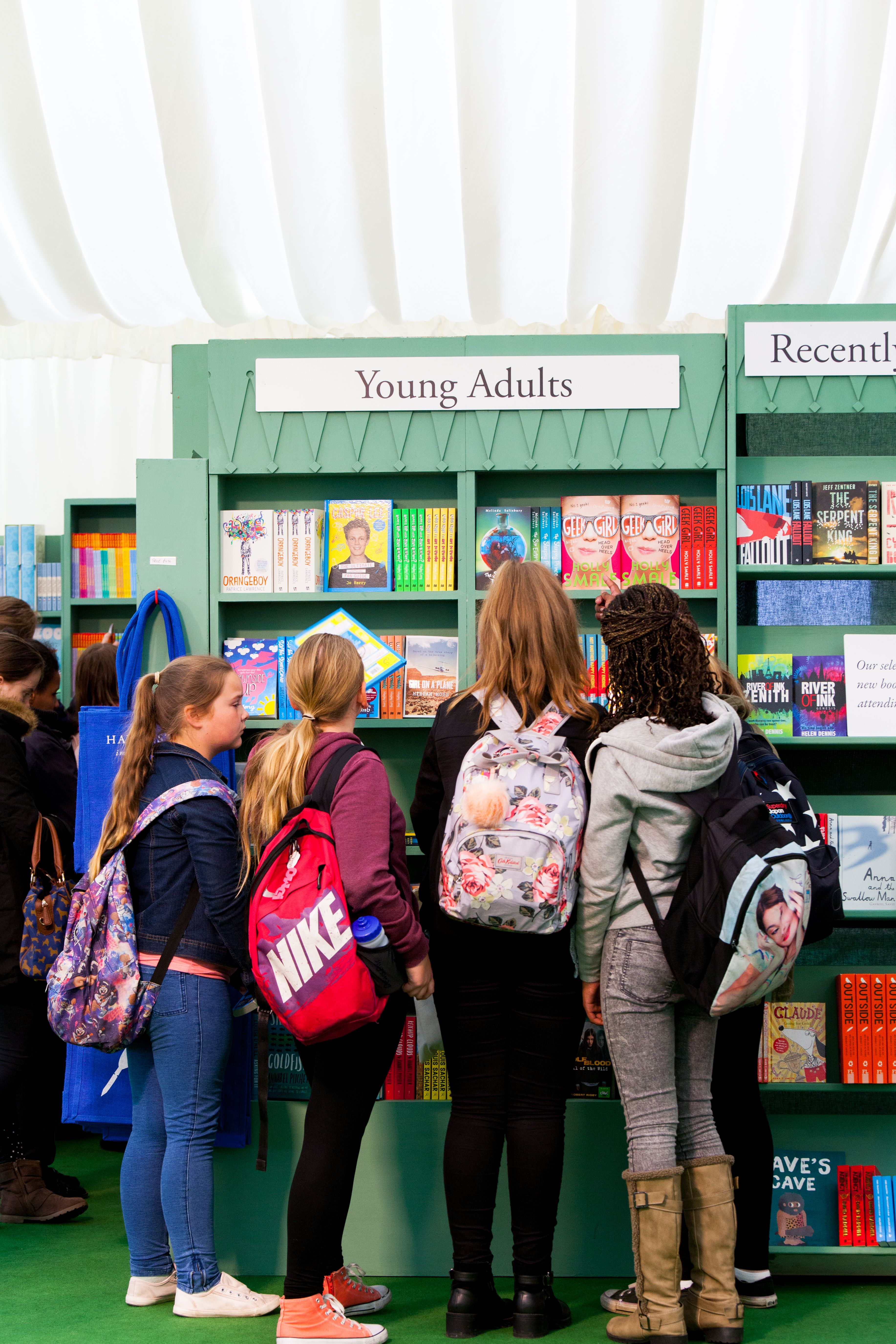 Cover Image for Featured authors on Calibre: Children and YA