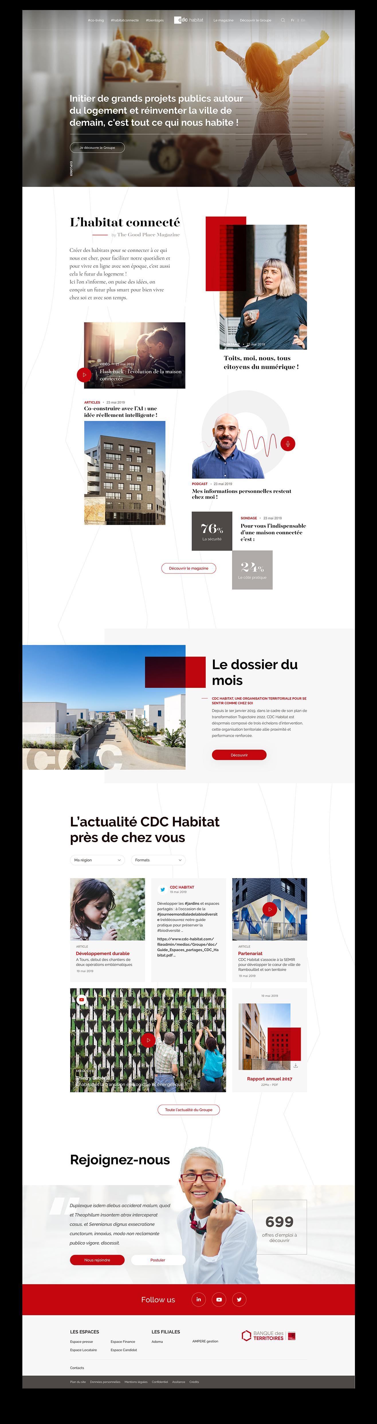 CDC Habitat - Mockup 1