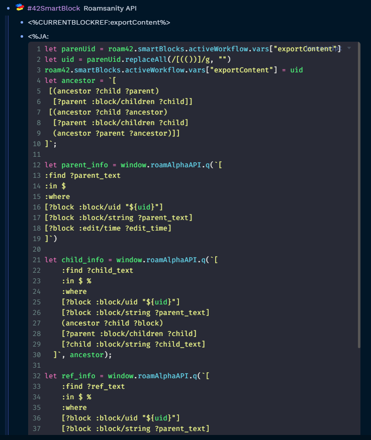 smartblock code
