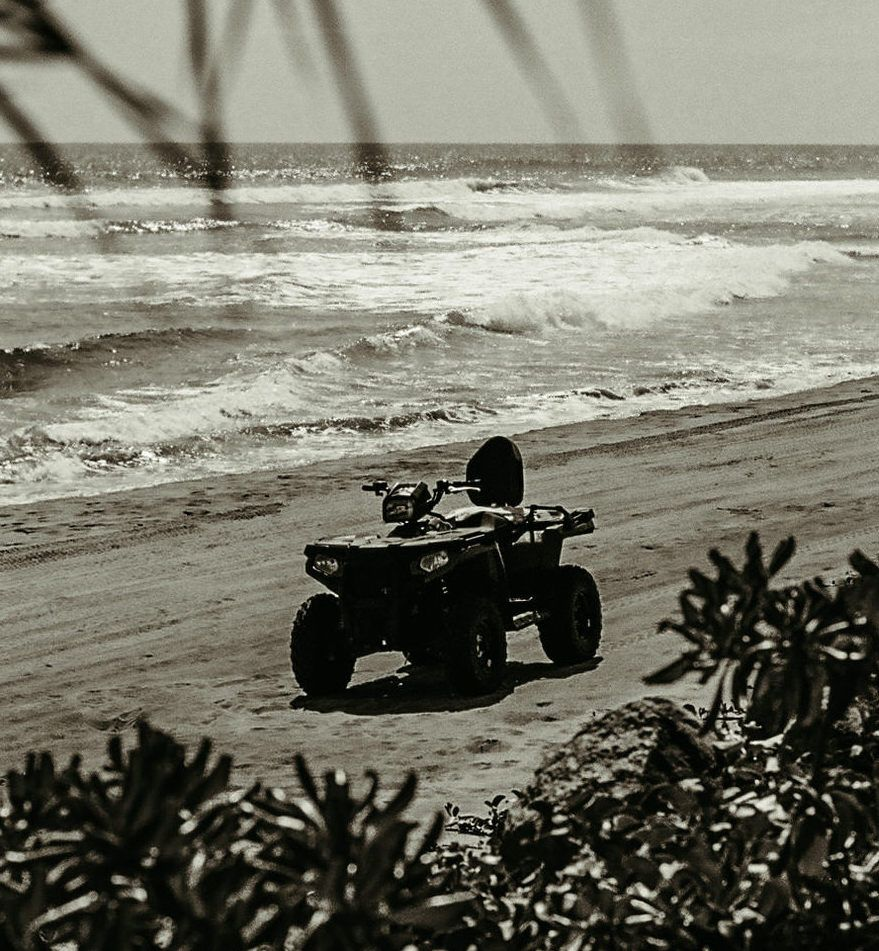 ATV on the beach