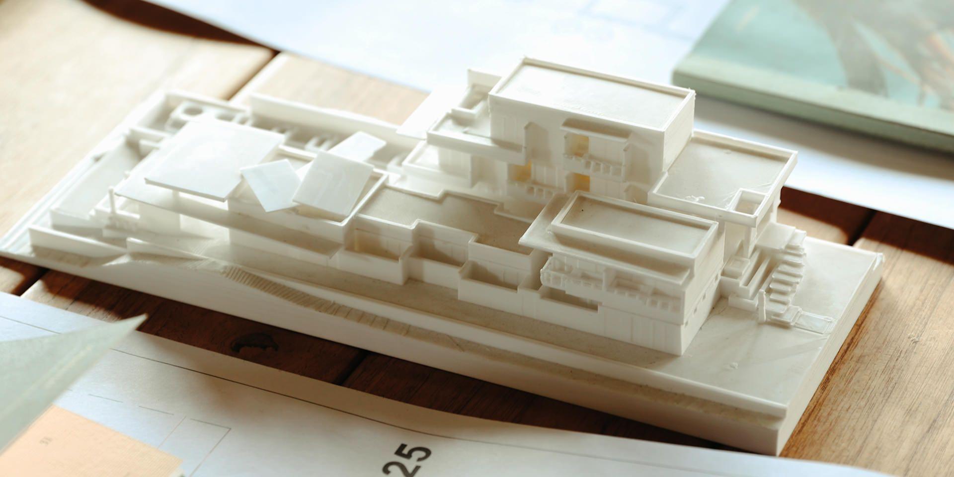 3D model render Hotelito