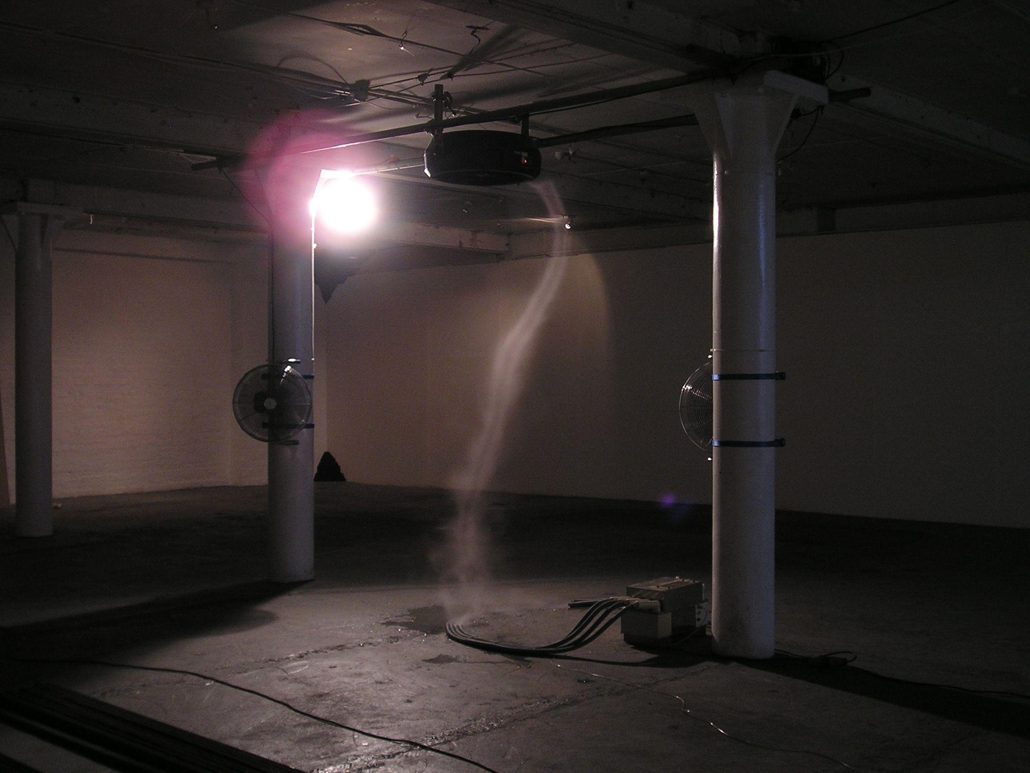 Intallation at Schwartz Gallery, UK