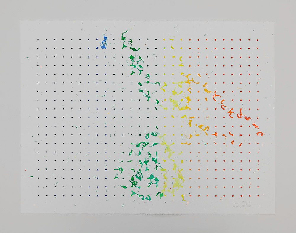 Tornado Drawing, CAM Raleigh, NC, USA (Beaufort wind scale, 2), 2013