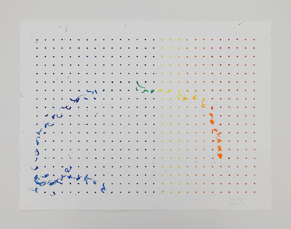 Tornado Drawing, CAM Raleigh, NC, USA (Beaufort wind scale, 3), 2013
