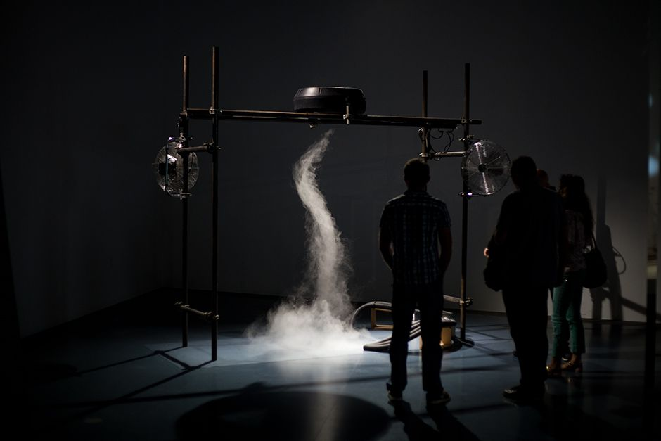 Installation at Ars Electronica, Linz, Austria