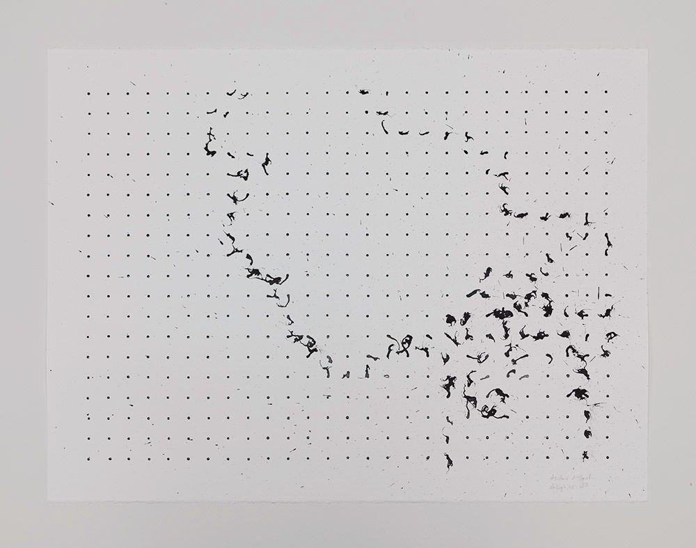 Tornado Drawing, CAM Raleigh, NC, USA (black and white, 5), 2013