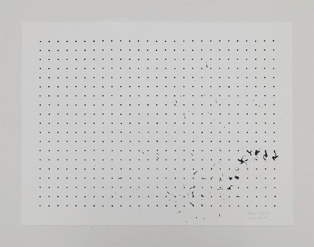 Tornado Drawing, CAM Raleigh, NC, USA (black and white, AP), 2013