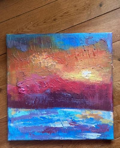 setting painting