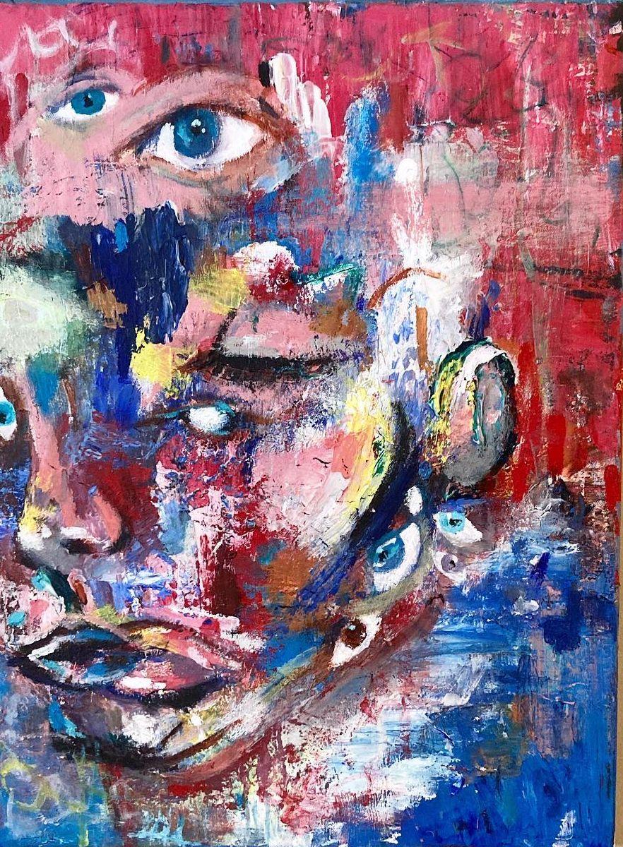 look painting