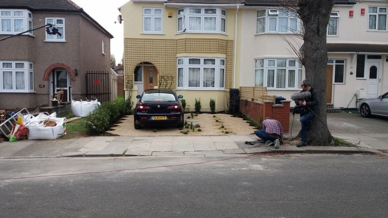 First car parked - job done!