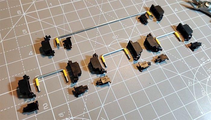 Stabilisateur clavier mécanique