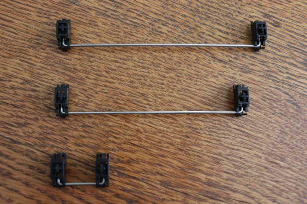 Stabilisateurs pour clavier mécanique