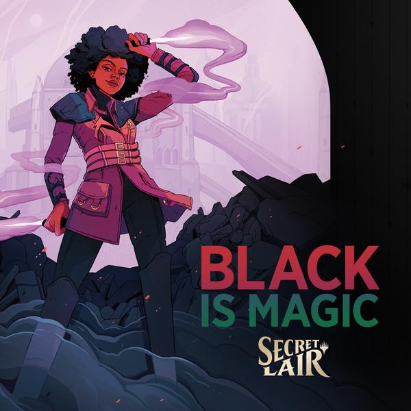 Capacity Studios : Secret Lair : Black Is Magic