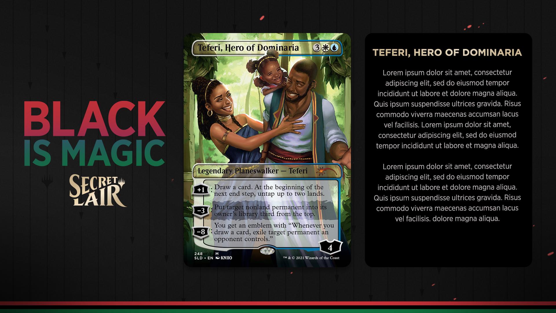 Capacity: Secret Lair Black Is Magic