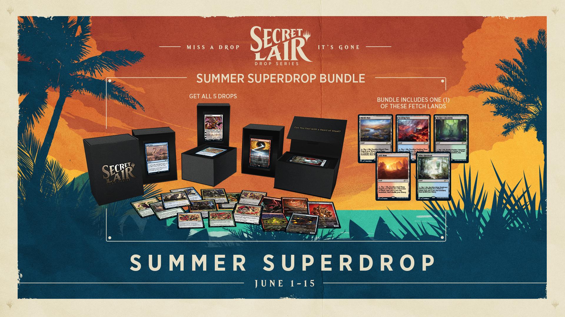 Capacity : SL Summer Superdrop