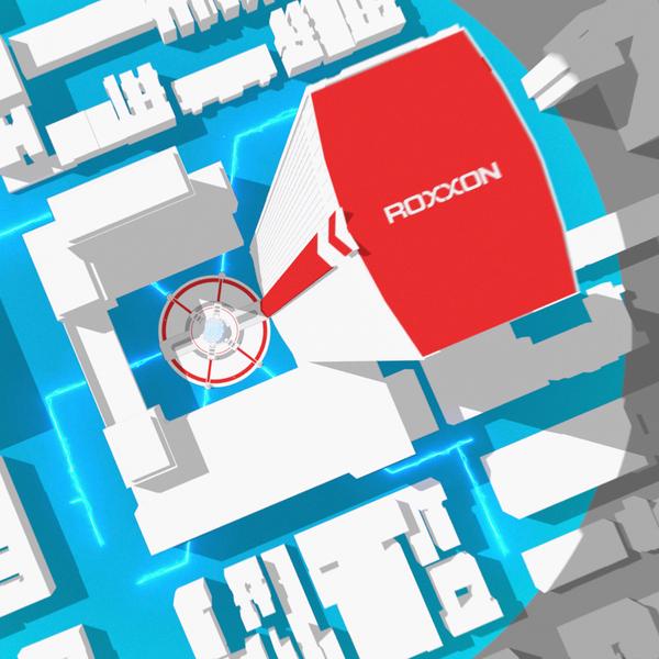 Capacity Studios : Spider-Man : Miles Morales : Roxxon