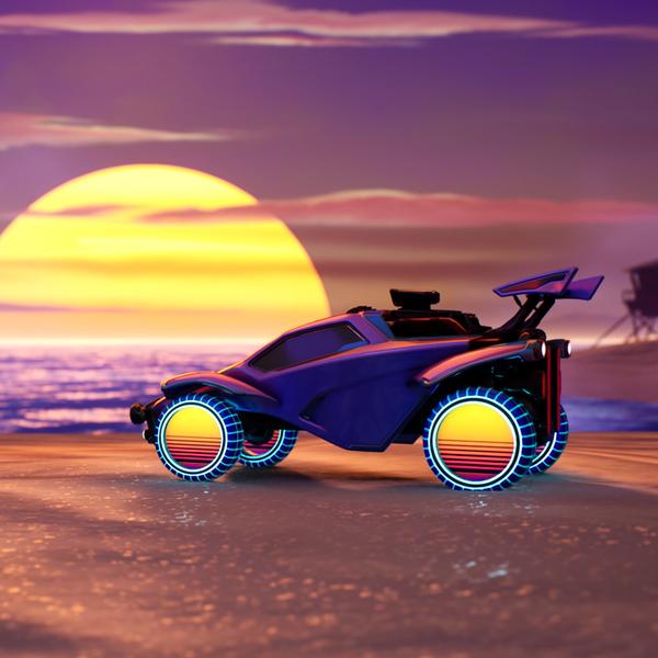 Capacity Studios : Rocket League Radical Summer