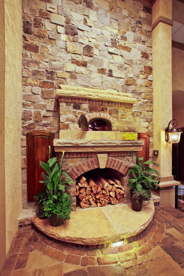 Built-In Brick Pizza Oven