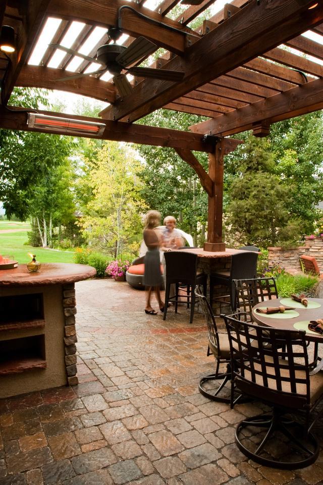 Paver Outdoor Living Patio