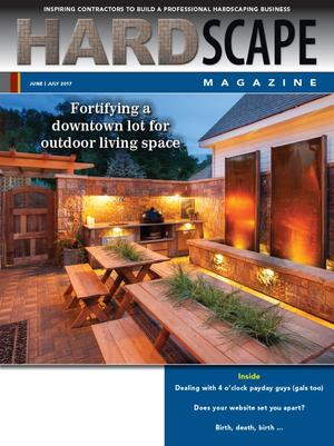 Hardscape Magazine article about Lindgren Landscape