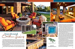 Style Magazine article about Lindgren Landscape Remodel Project