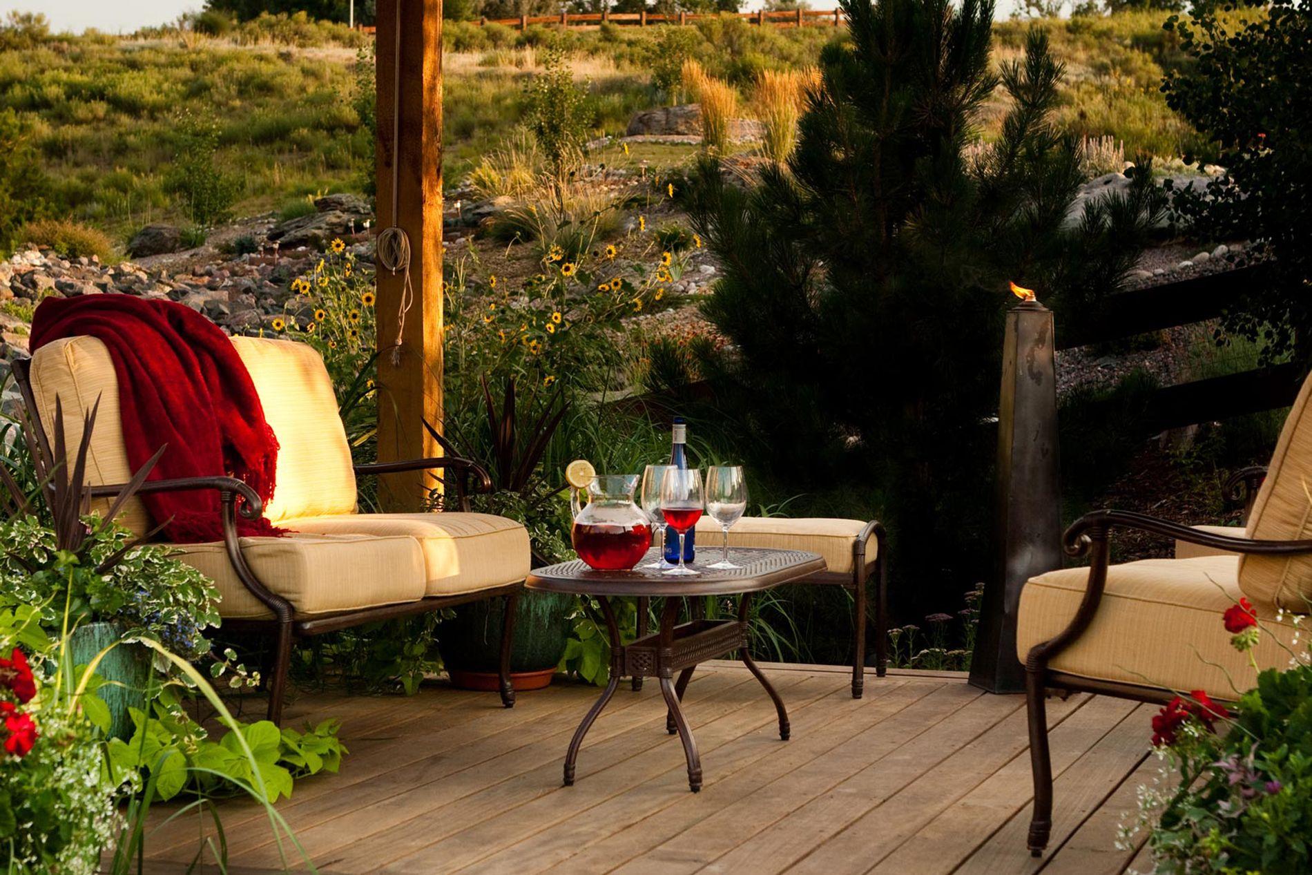 Wood Deck Outdoor Living